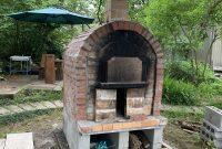 ピザ窯完成です